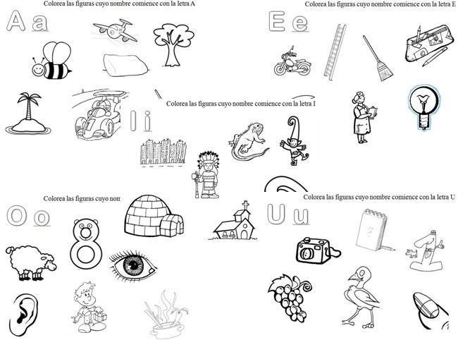 Cosas Con A Para Colorear: Imagenes Que Empiecen Con La Letra I