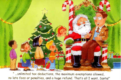 Christmas Accountant.Humble Student Of The Markets A Christmas Card From My