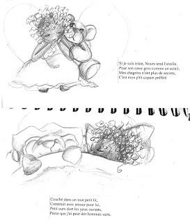 illustratrice va commencer un projet avec un auteur pour l'illustration jeunesse
