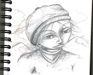 Illustration de nino le petit garçon qui voulait devenir chasseur de nuage album jeunesse en préparation par lillustratrice laure phelipon