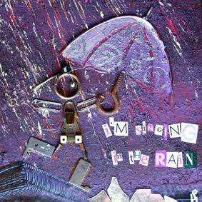 p'tite illustratrice sous la pluie