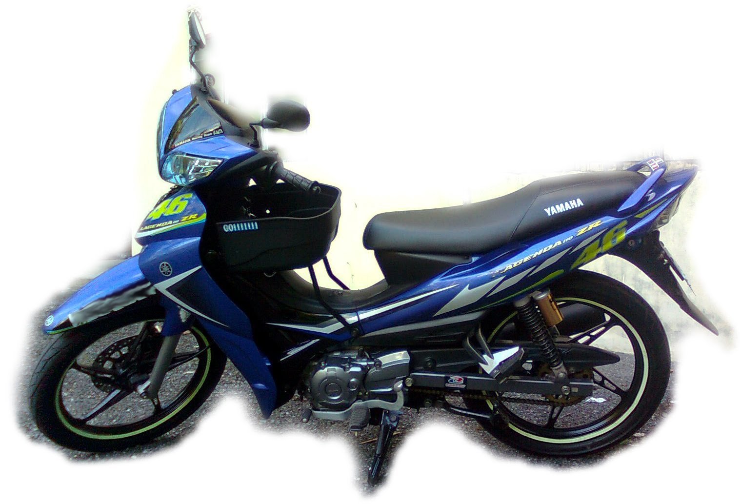 Belog Tepuk Dahi: Yamaha Lagenda ZR