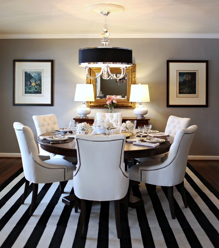 Dining Room Black And White: Knight Moves: Cooking Up A Dining Room