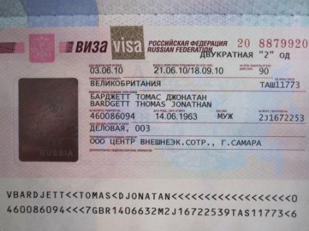 For All Russian Visa 6