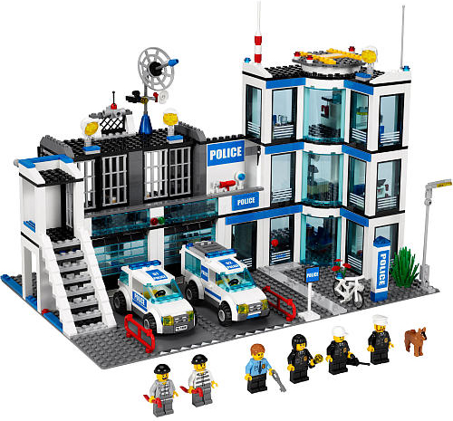Brickstoy: New LEGO Set--Police Station Year 2011