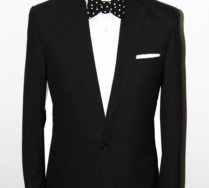 Vintage Revival  30% REA! - Svart enkelknäppt kostym i ull - Vintage ... ac9a49d7926b4