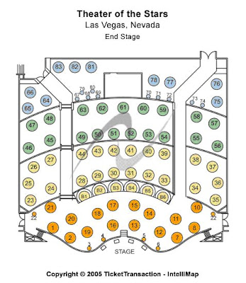 Theater of Stars seating chart check the seating chart here, view