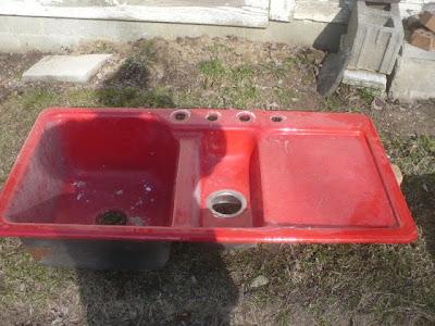 Kohler Red Kitchen Sink