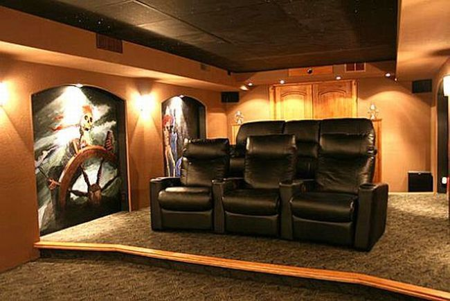 40 beautiful private movie theatres