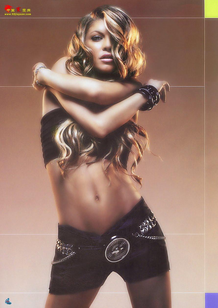 Fergie Black Eyed Peas Nude