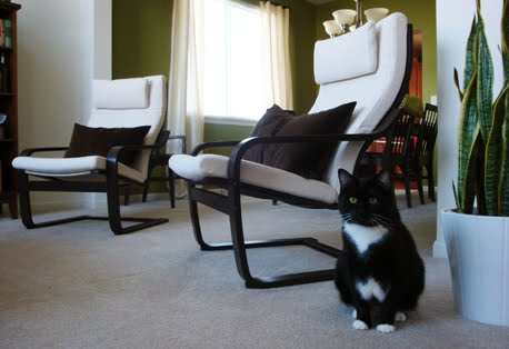 poang chairs ergonomic chair lower back support the design slice a tale of two one snafu that i wasn t anticipating was incomplete look hardware which silver looked with dark paint