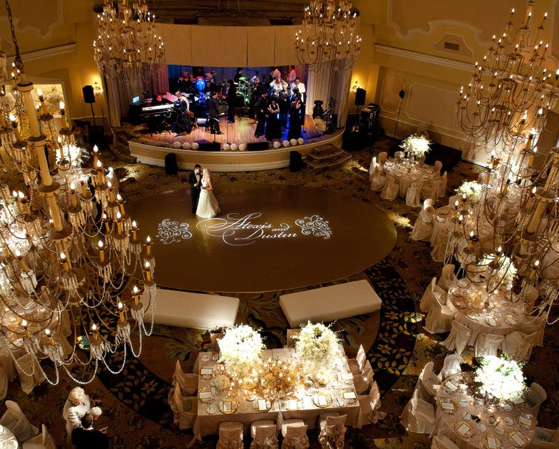 San Diego Style Weddings Glamour And Glitz At The Hotel