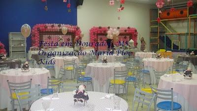 Festas Rosa e Marrom