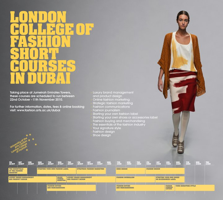 Beads Of Babylon London College Of Fashion In Dubai