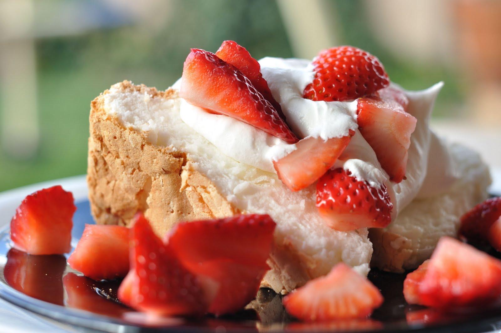 Almond Angel Food Cake