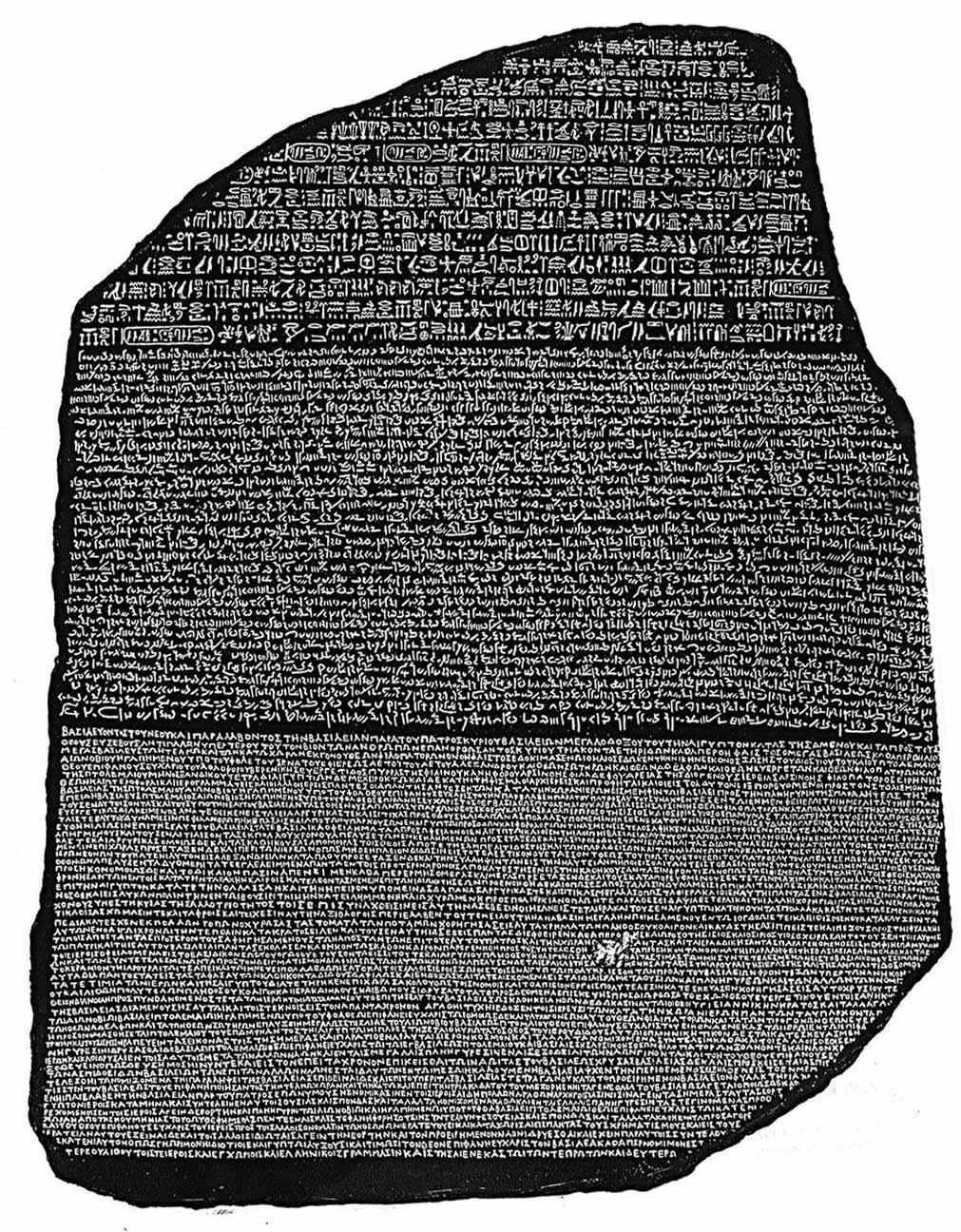 rosetta stone egyptian writing and art