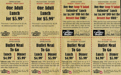 Old Counrty Buffet Coupons 27