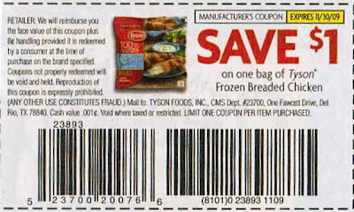 Tyson Chicken Coupon | Jeans Pants