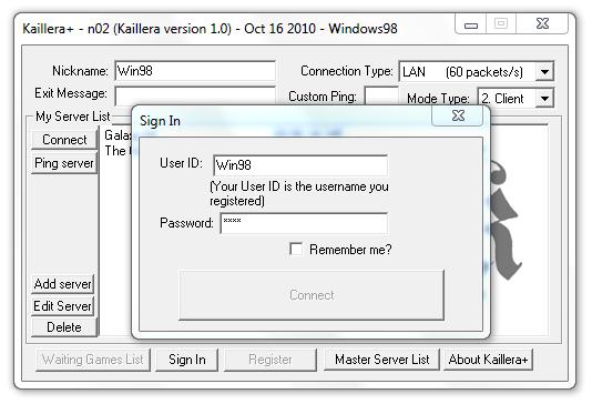 Kaillera client