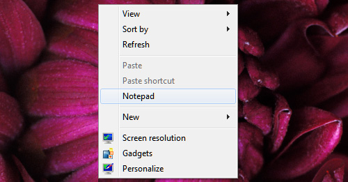 Custom Desktop Right-Click Menu 8