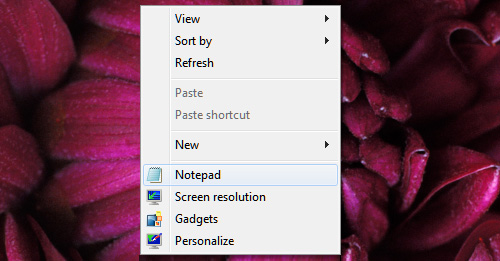 Custom Desktop Right-Click Menu Final