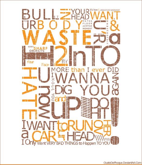 TYPOGRAFI GRAFIKA: 21 Desain Poster Bergaya Tipografi