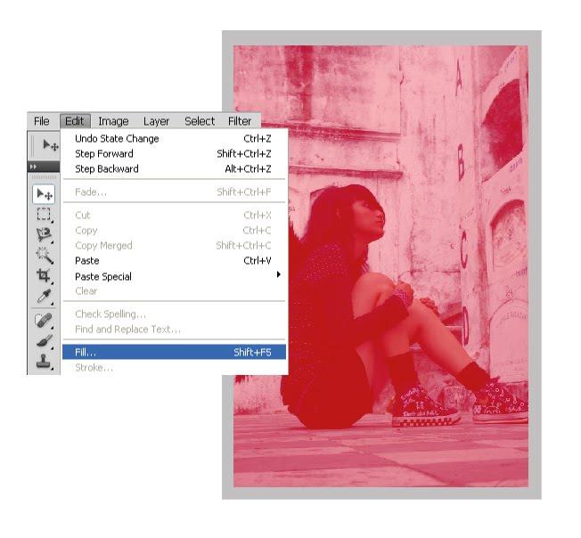 Light Leak Effect tutorial dan tips Photoshop