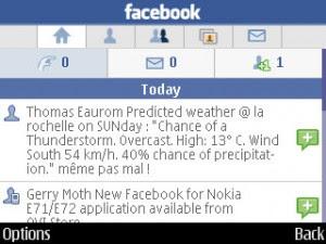 facebook messenger for nokia e71