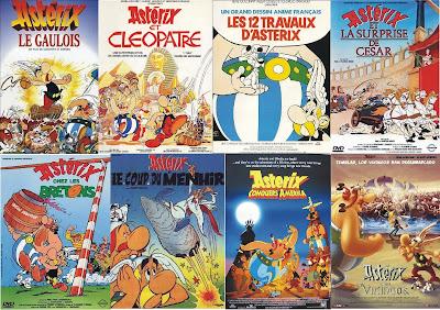 Resultado de imagen para saga asterix y obelix peliculas