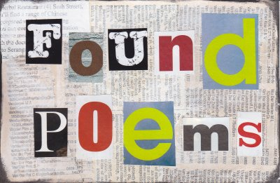 Shaping Up Poetry: Found Poems (1/4)