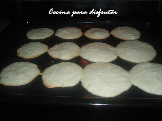 receta GALLETAS DE COCO Y CHOCOLATE
