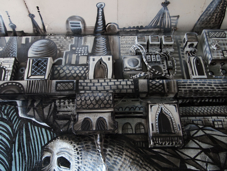 Kid Acne x Phlegm Sheffield Street Art
