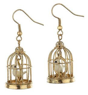 Pin Bird Cage Earrings Crazy But Cool Cake on Pinterest