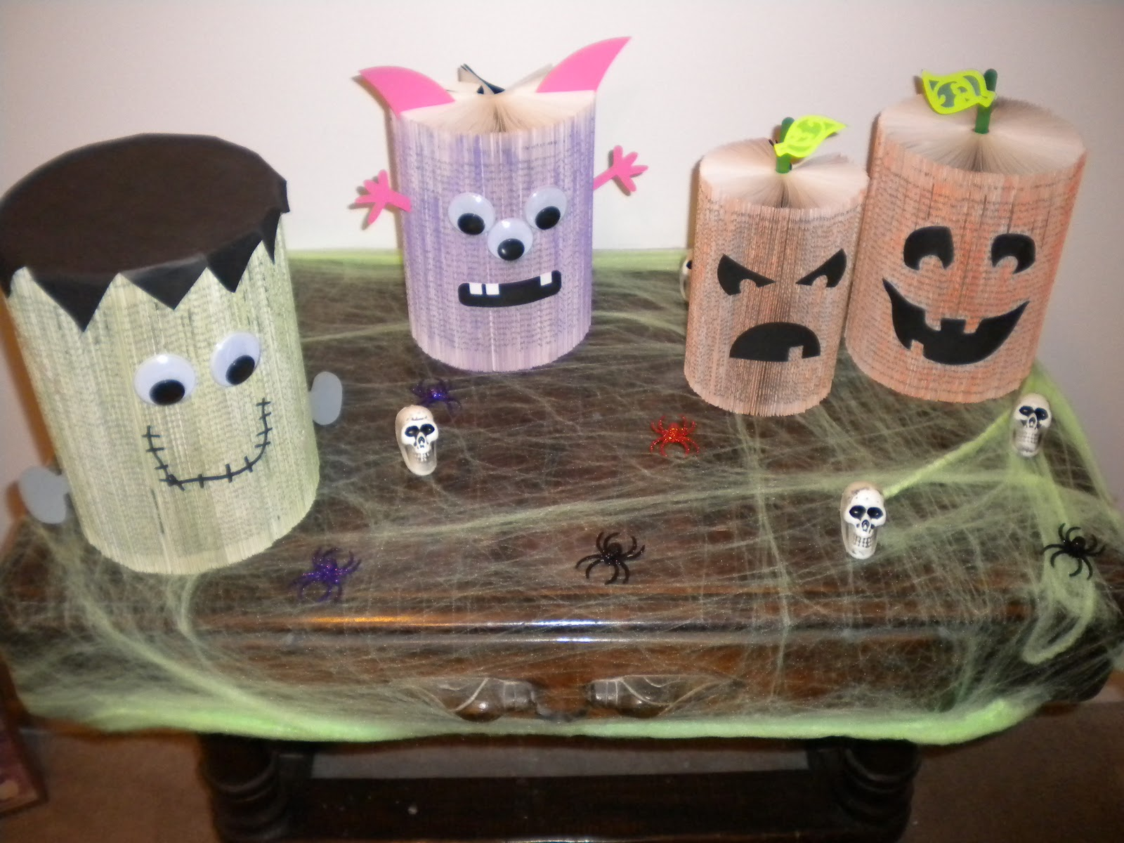 Jean S Crafty Corner Day 4 Of Halloween Crafts Paperback Monsters