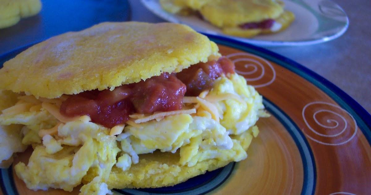 Venezuelan Stuffed Corn Cakes Recipe