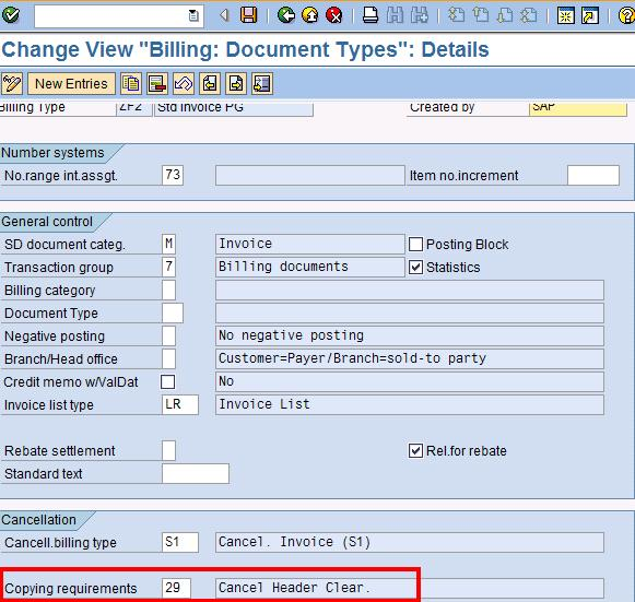 SAP Treasure Box: To prevent cancelling of invoice which accounting