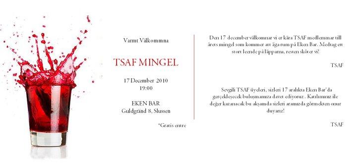 grattis på turkiska Turkiska ungdomsförbundet: TSAF mingel grattis på turkiska
