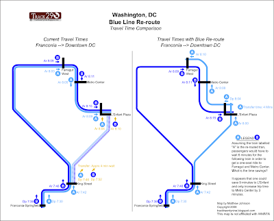 Track Twenty Nine Understanding The Blue Line Reroute
