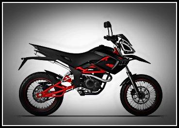 Minerva Sachs SuperMoto 250   Minerva Motorcycles Review