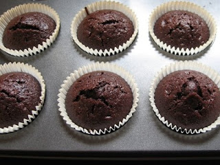 Šokoladinių keksiukų receptas