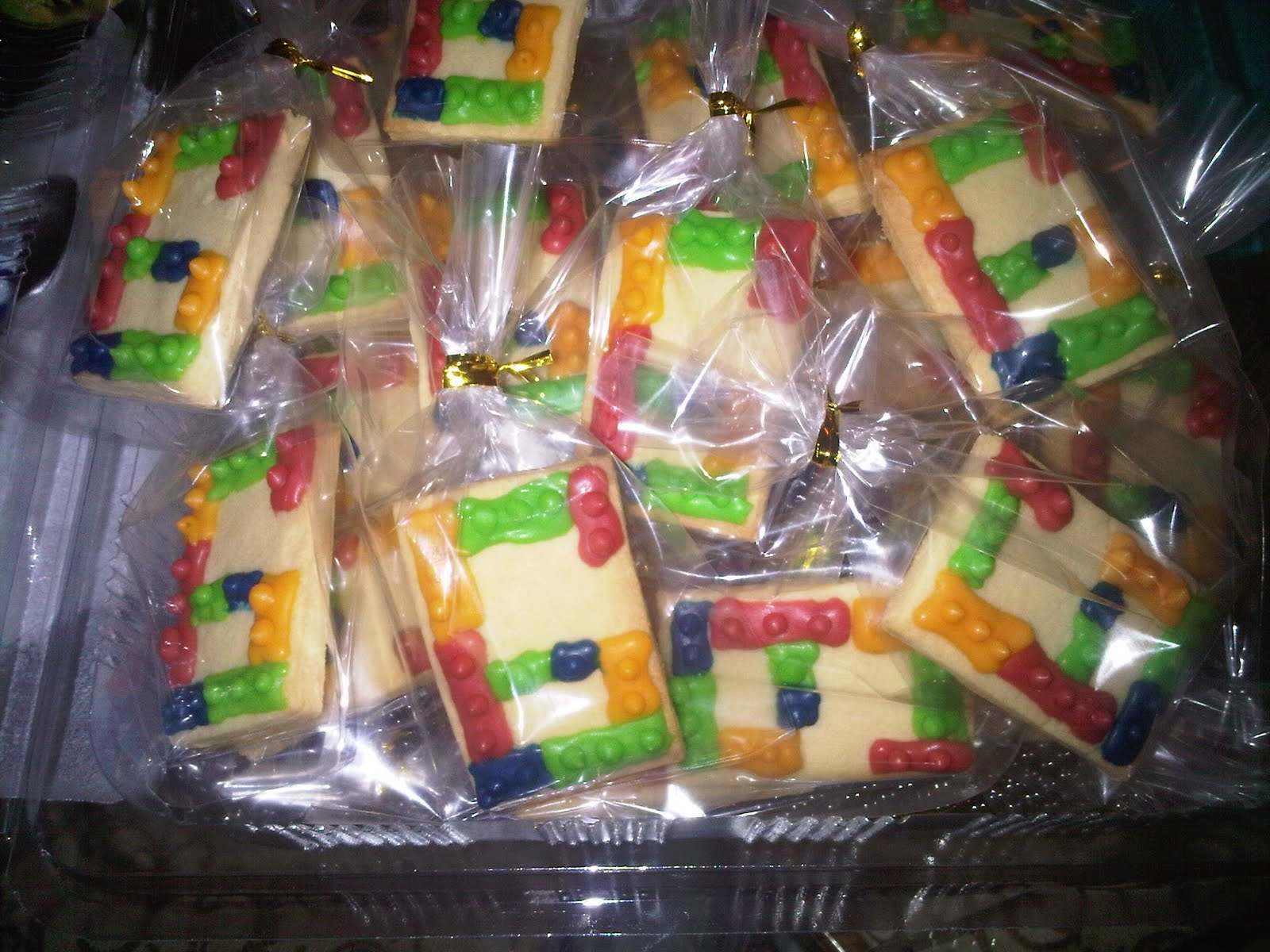 Baking Lab Lego Cookies For A 6 Year Old