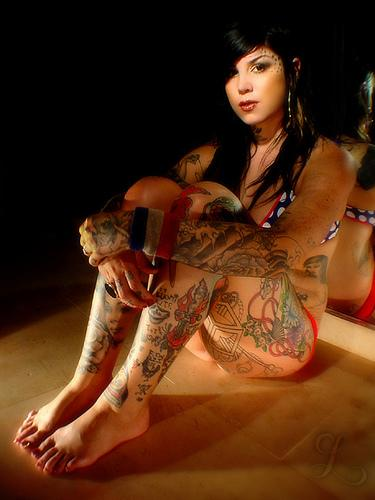 Remarkable, The girls from miami ink naked