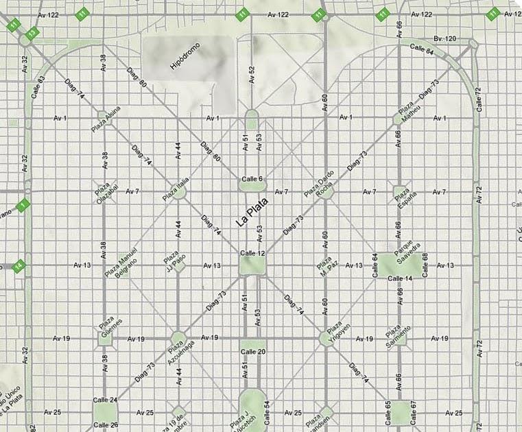 Misterios De La Ciudad De La Plata Como Determinar Las Calles