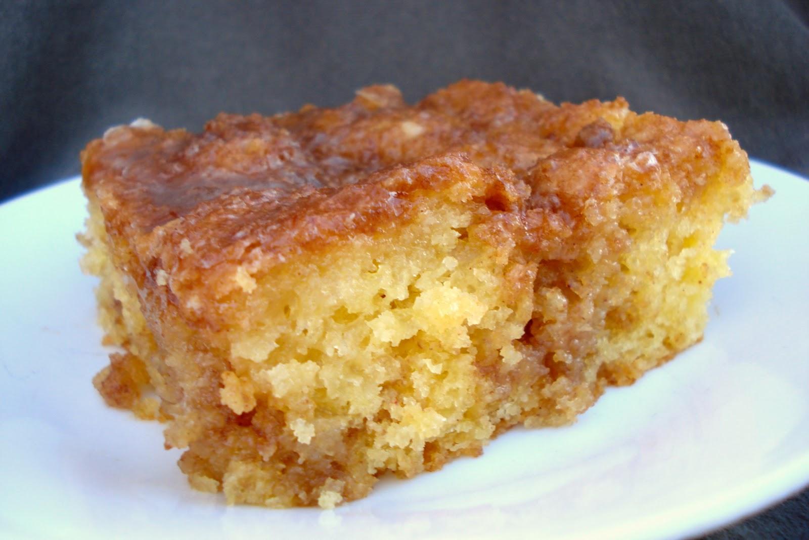 Honey Bun Cake With Cake Mix