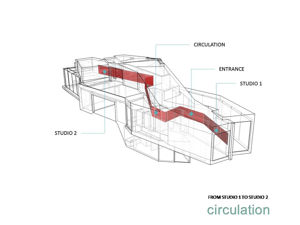 Architecture & Habitat: Moebius House studied by Amanda