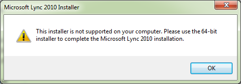 The EXPTA {blog}: Deploying the Lync 2010 Client to