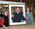Three Certified Professional Framers