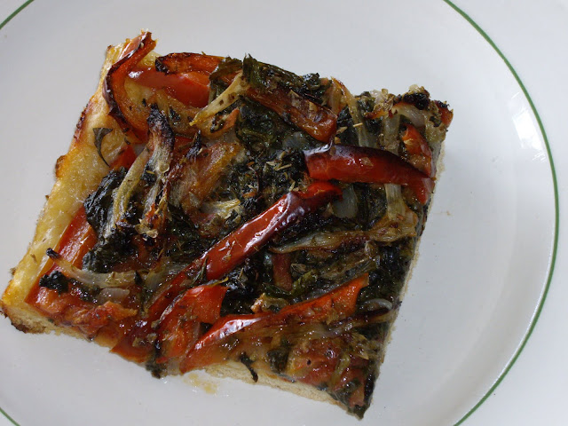 Torta de verduras