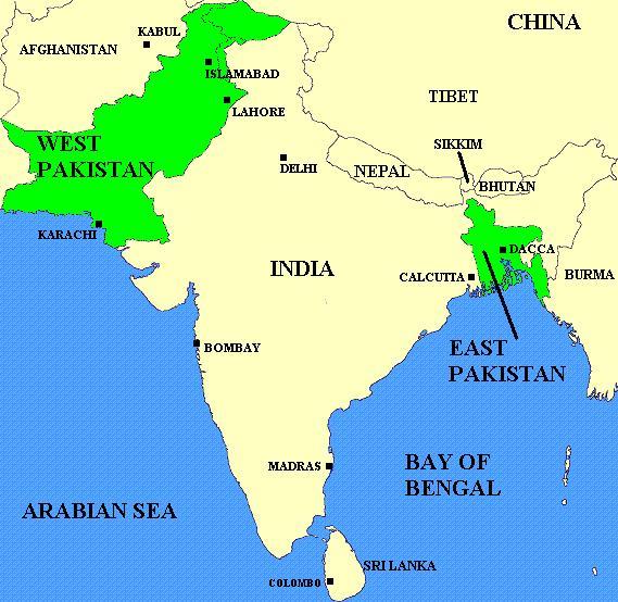 trade relationship between pakistan and bangladesh 1971