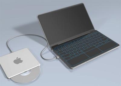 macbook-8081 TOP 10 - Futuristic Concept Laptop Designs